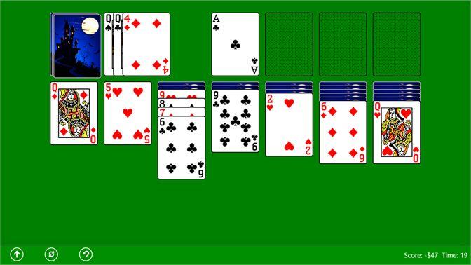 Bài solitaire trên windows